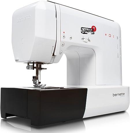 Bernina Bernette Londres 7 útil de puntada máquina de coser ...