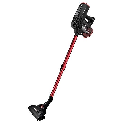Cecotec Aspirador Vertical Conga ThunderBrush 520. Aspirador Vertical 360º 2 en 1, Escoba y de Mano, Tecnología Ciclónica, Filtro HEPA, Radio de ...