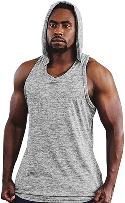 Independence Day Mens Sleeveless American Flag Print Tank Top Tee Shirt Mesh Breathable Bodybuilding Sport Vest Blouse