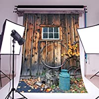 LB 5x7ft Vintage Door Poly Fabric Photography Backdrop Studio Prop Customized Photo Backgrounds Backdrops WF69