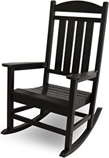 product image for POLYWOOD R100BL Presidential Rocking Chair, Black