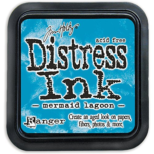 Ranger Tim Holtz Distress Ink Pad Mermaid Lagoon (12 Pack)