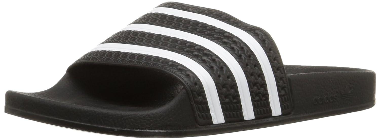adidas Men's Adilette Slide Sandal B001N0IS1O 9 D(M) US|Black/White/Black