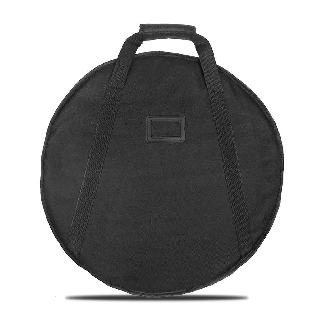 HNYG Cymbal Case Black with 10mm Padding Gig Drum Bag A584