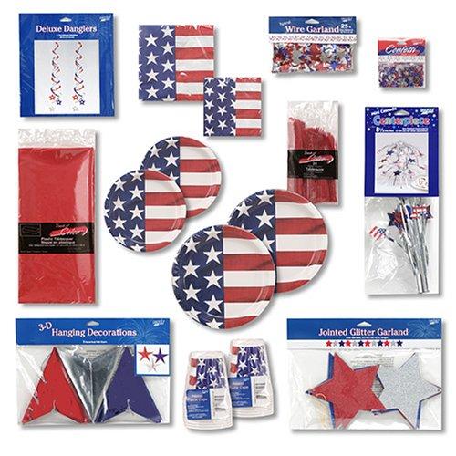 Creative Converting Patriotic Party Kit