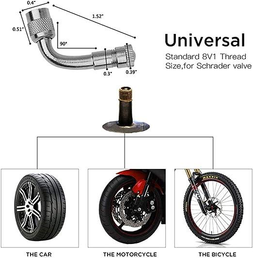 enjoygoeu - Manómetro de presión de neumáticos Digital, 200 PSI, manómetro de presión de neumáticos con Pantalla LCD y luz LED, Pistola de inflado para Coche, Moto, camión, Bicicleta, 1/4