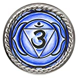 psychic ring - 6th Chakra Indigo Psychic Ajna Adjustable 1