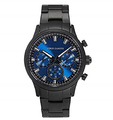Amazon.com: Vince Camuto Multi-Function Blue Dial Mens Watch - #VC/1087BLTI: Clothing