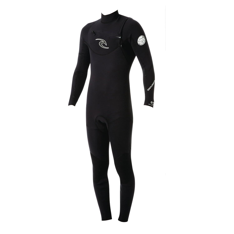 RipCurl Dawn Patrol 3/2mm GBS CHEST ZIP Wetsuit BLACK