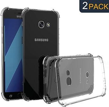 Ganvol (2 Pack Caso Claro Ultra Fina TPU Funda para Samsung Galaxy ...