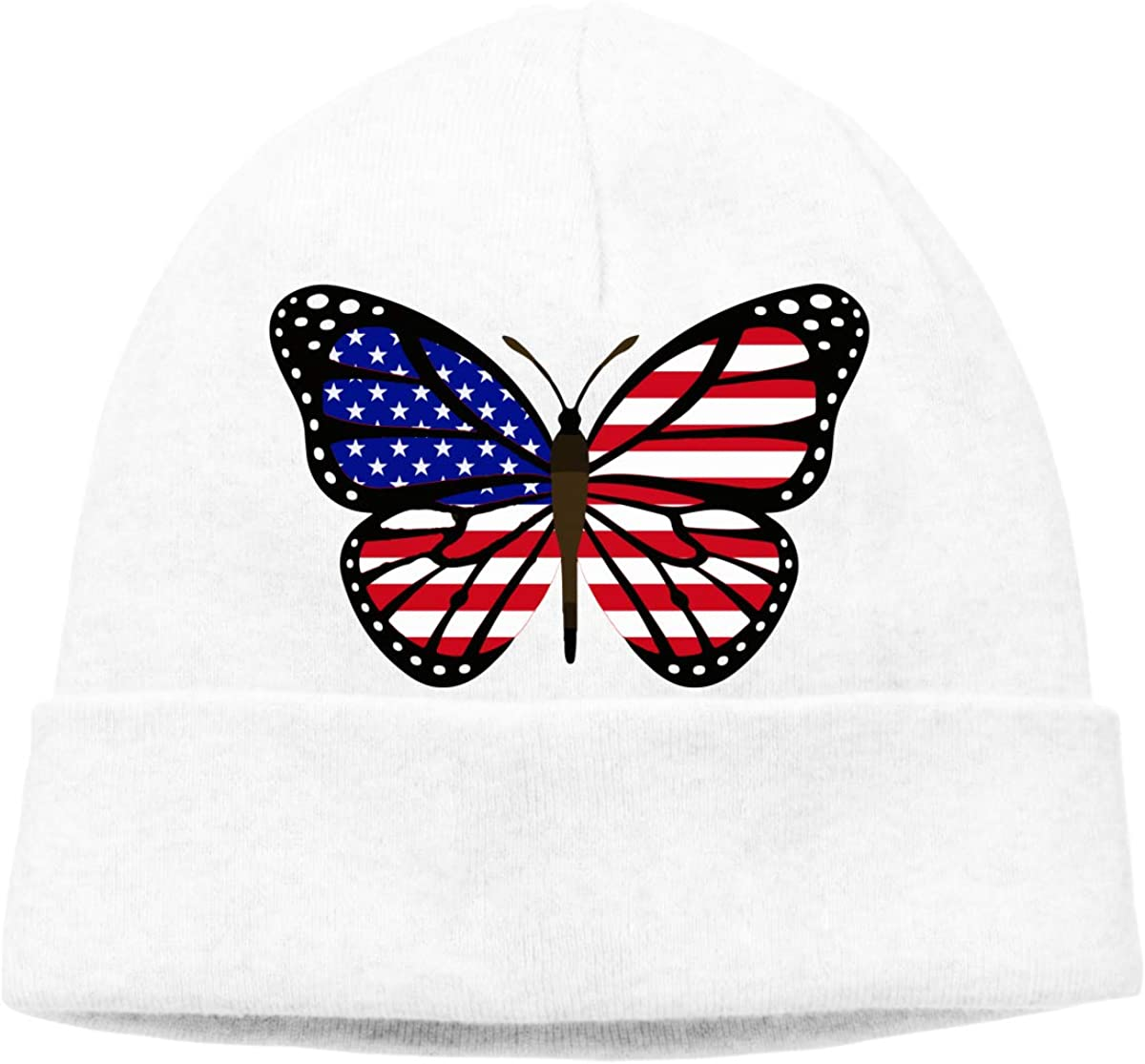 BF5Y3z/&MA ButterFlag USA Flag Beanie Hat for Men Women,Stretch Knitted Cap Skull Cap