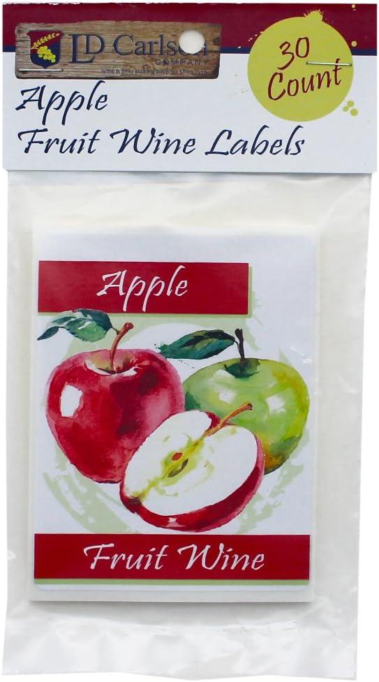 Apple Fruit Wine Labels