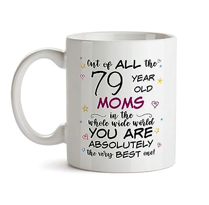 79th Mom Birthday Gift Mug
