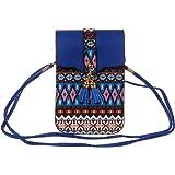 KISS GOLD(TM) Women's Folk Style Mini Shoulder Bag Cellphone Pouch