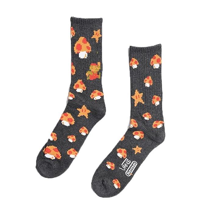 Calcetines Vans - Nintendo Mario negro/multi talla: 38, 5 al 42 EU I 6.5-9 USA I 5.5-8 UK: Amazon.es: Ropa y accesorios