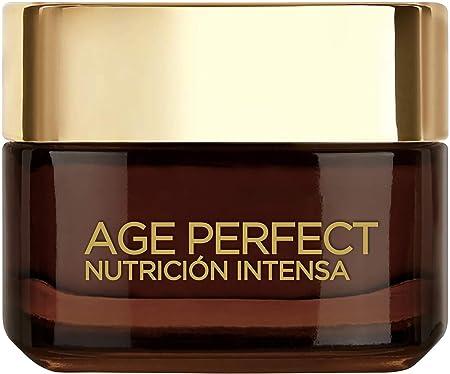 L'Oréal Paris Age Perfect Nutrición Intensa Crema Reparadora Día Pieles Maduras y Desnutridas - 50 ml