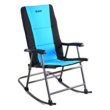 Guide Gear Oversized Rocking Camp Chair, 500 Lb. Capacity, Blue