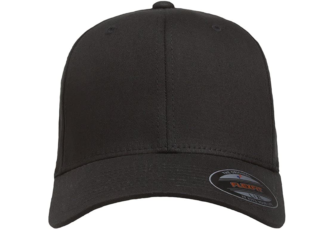 Flex fit Unisex-Adult Cotton Twill Fitted Cap Hat