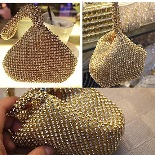pour Pochette doré femme Eleoption Pochette Eleoption q8vpYw