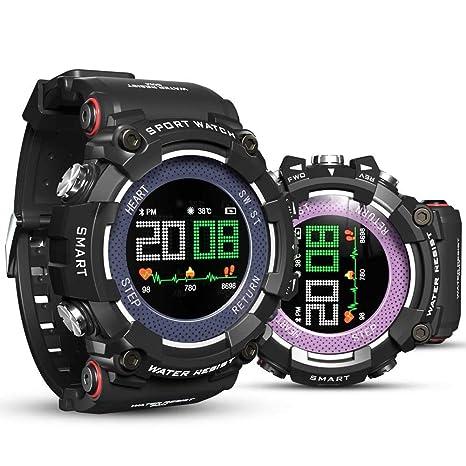 Cycle Crafts Monitor de Color Pantalla Reloj Inteligente Deporte Reloj Inteligente Digital Hombres niños Reloj Bluetooth