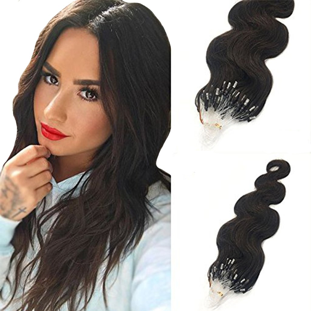 Amazon Googoo 20 Inch Real Remy Micro Loop Ring Human Hair