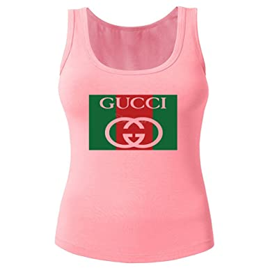 0ae67543 Gucci New for 2016 Womens Printed Tanks Tops Sleeveless t Shirts: Amazon.co. uk: Clothing
