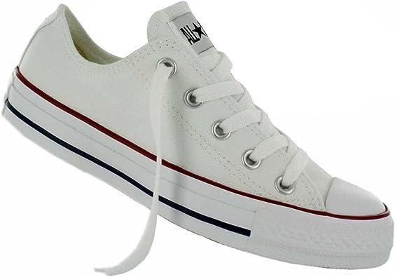 No lo hagas Tranquilizar Figura  Amazon.com: Converse Chuck Taylor de la mujer core Ox Fashion Sneaker  Blanco 9,5 M US: Shoes