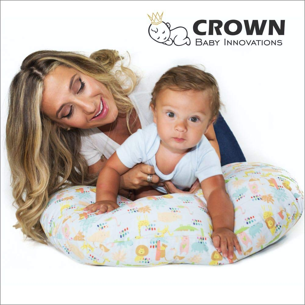Crown Baby Innovations Nursing Pillow Cover (Multicolor) Crown Home Innovations