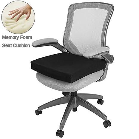 Cojín de asiento, silla Pad para la espalda, ciática y coxis dolor alivio al aire libre ...
