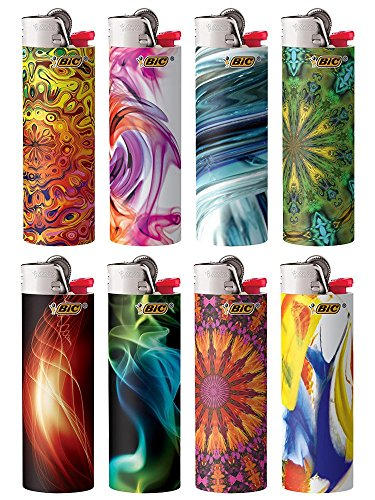 Price comparison product image BIC 744252 Bohemian Series Lighter,  Case of 50