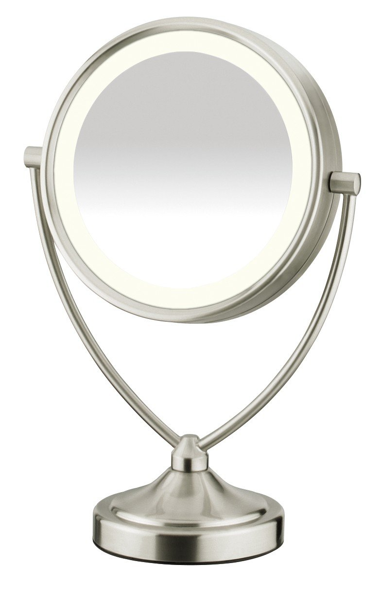 Conair Round Shaped Natural Daylight Double Sided Lighted Makeup Mirror