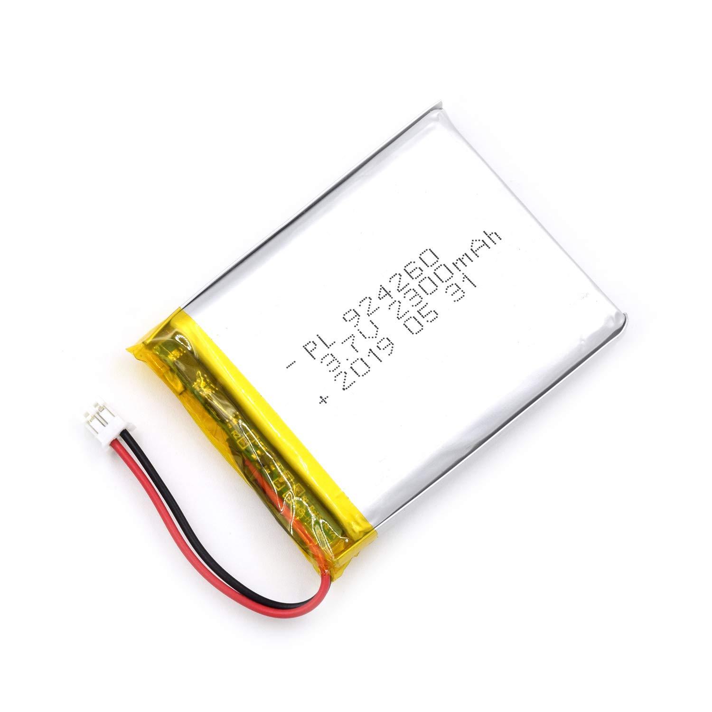 Bateria Lipo 3.7V 2300mAh 924260 Recargable JST Conector