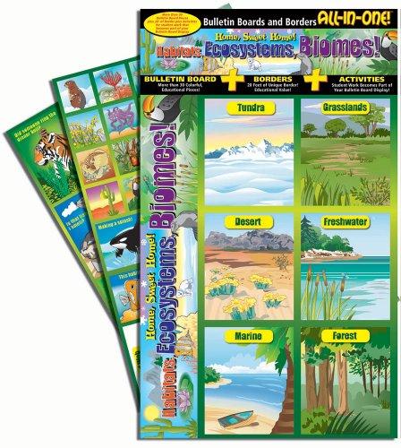 Gallopade Publishing Group Home, Sweet Home Habitats, Ecosystems, Biomes Bulletin Board (9780635068026) ()