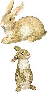 Design Toscano S/Hopper & Bashful The Lying Down Bunny Statue