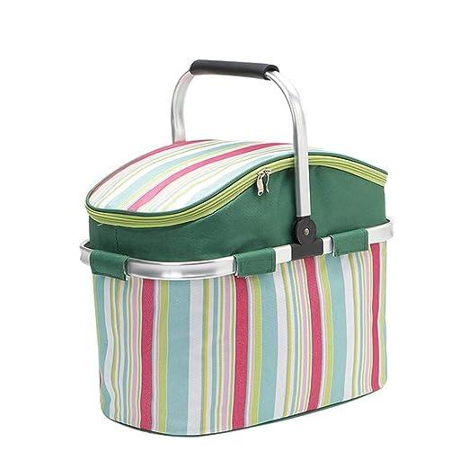 Nevera plegable, cesta de picnic plegable Bolsa de supermercado ...