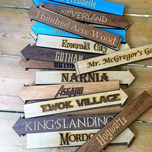 """32/"""" CUSTOM HAND PAINTED WOOD DIRECTIONAL ARROW SIGN YOUR WORDING /& COLORS"""