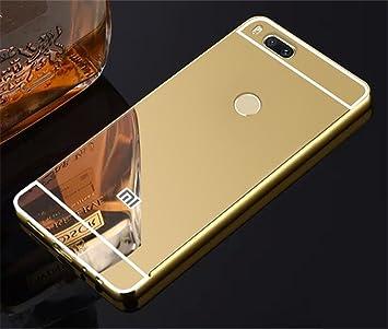 release date: 23bf7 10d0d Xiaomi MI Case For Xiaomi Mi A1 Silver Mirror Metal: Amazon.co.uk ...