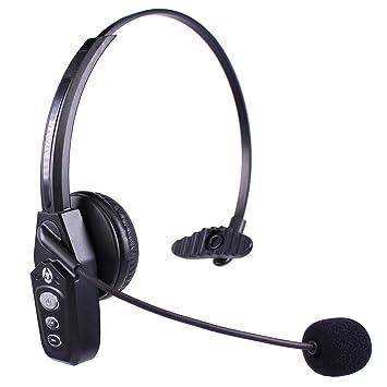 Arama JBT800 Auricular Bluetooth con Micrófono y Bluetooth 5.0, Audífonos Inalámbricos Para Oficina, Auricular