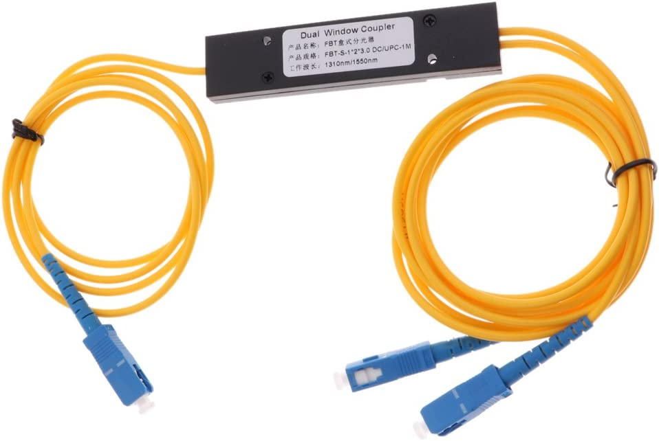 Baosity Fiber Optical Splitter FTTH Fiber Splitter Cable 1310nm-1550nm Network Cable