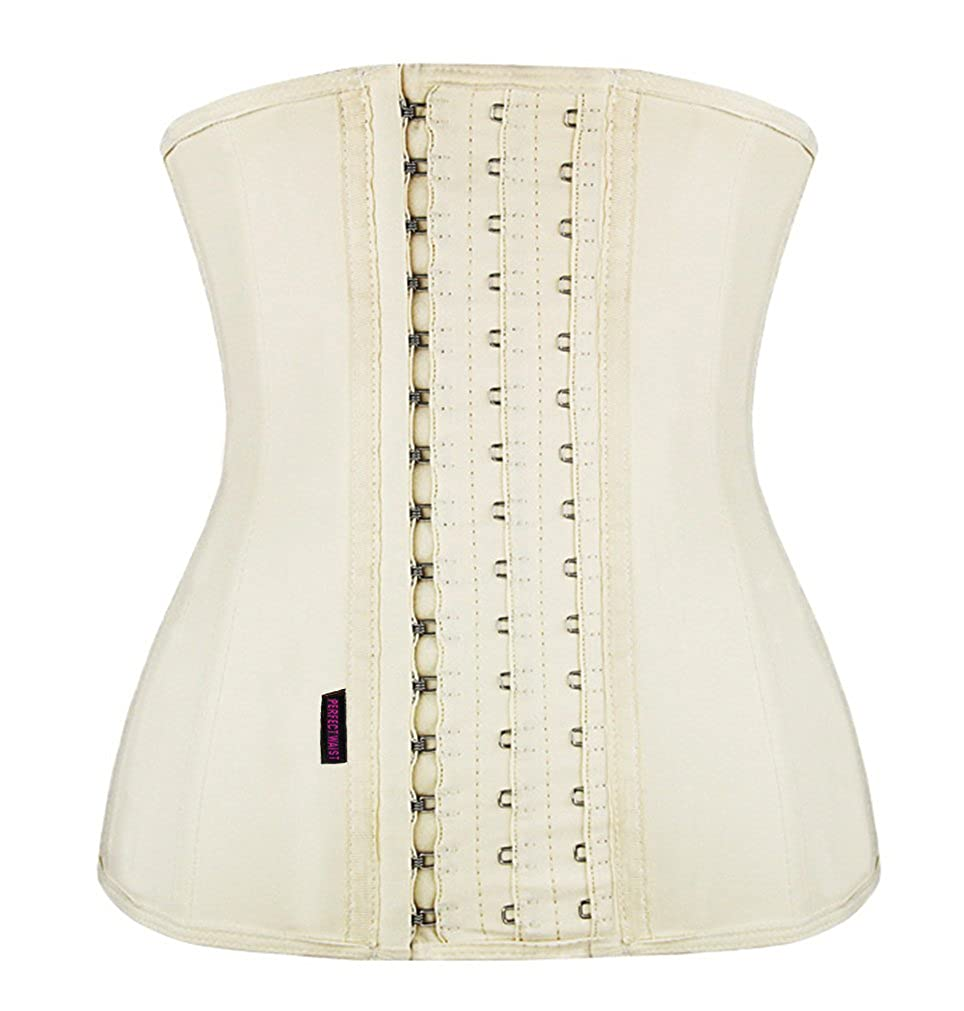 f065a00147c FIRM ABS Women s Latex Sport Girdle Waist Training Corset Waist Body Shaper  at Amazon Women s Clothing store
