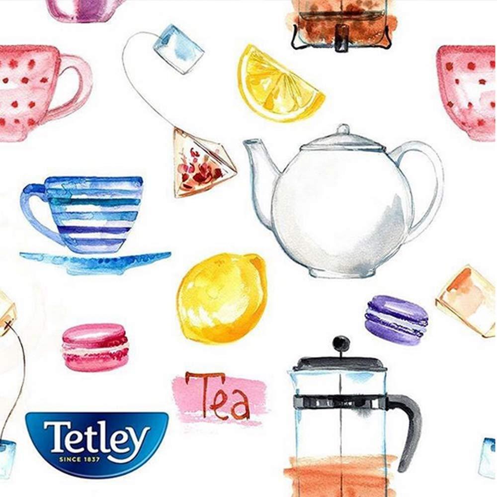 Tetley Green Tea, Decaffeinated, 72 Tea Bags (Pack of 6)