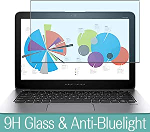 """Synvy Anti Blue Light Tempered Glass Screen Protector for HP EliteBook Folio 1020 G1 12.5"""" Visible Area 9H Protective Screen Film Protectors"""