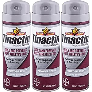 Tinactin Athletes Foot Powder Spray (Pack of 3)