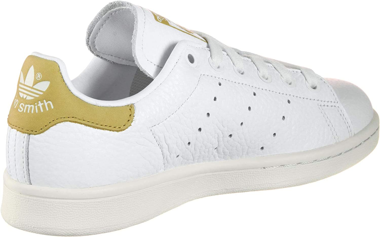 adidas Stan Smith, Zapatillas de Gimnasia para Hombre Blanco Ftwr White Ftwr White Raw Ochre Ftwr White Ftwr White Raw Ochre