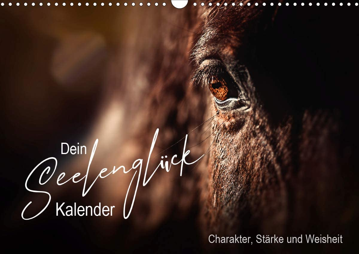 Seelenglück Kalender - Charakter, Stärke, Weisheit (Wandkalender 2021 DIN A3 quer): 12 Seelenglück Tiere begleiten Sie mit Charakter, Stärke und ... kommendes Jahr! (Monatskalender, 14 Seiten )