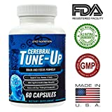 #7: Brain Supplement - Cerebral Tune-Up, Brain and Focus Formula, Focus, Memory, Clarity, Cognitive Health, Clear Thinking and Concentration, Neuro Pill, Brain Supplements, Memory, Nutritional Supplement