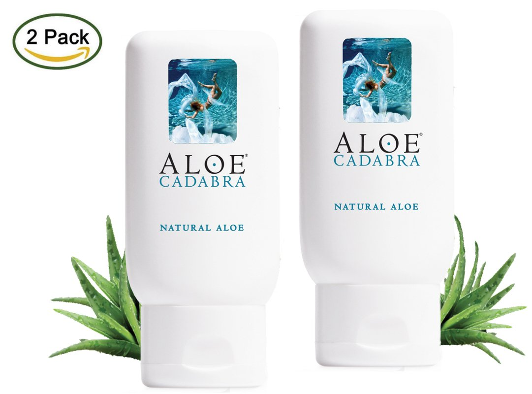 Aloe Cadabra Organic 2-in-1 Natural Menopause Vaginal Dryness Relief & Personal Lubricant