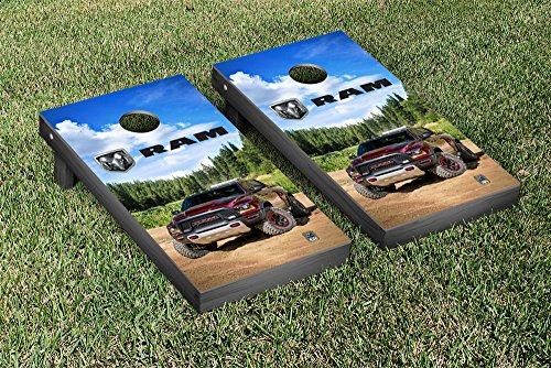 Ram Trucks Regulation Cornhole Game Set RebelTRX Version by Victory Tailgate