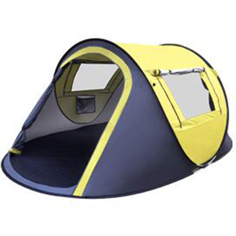 Tent Outdoor-Zelt 2 Sekunden Automatische Geschwindigkeitsöffnung Automatische Springende Zelte 2-3-4 Personen Zelte müssen keine Strandzelte bauen Stiefeltyp Zelte