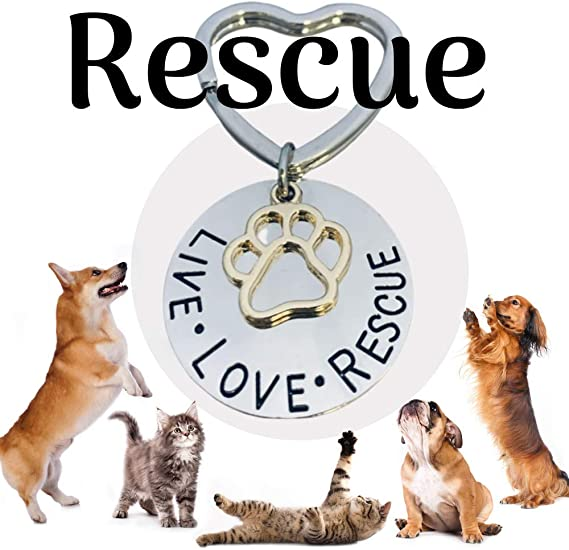 Peace Love Softball Base Keychain Keyfob Proceeds to Animal Charity